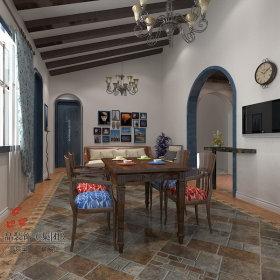 地中海地中海风格餐厅装修效果展示
