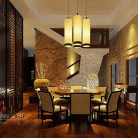 中式中式风格餐厅效果图