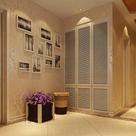 现代玄关玄关柜装修效果展示