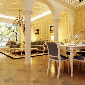 欧式餐厅设计方案