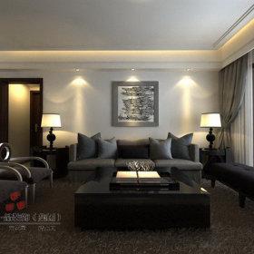 古典古典风格背景墙沙发装修图
