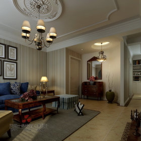 乡村风格客厅设计案例