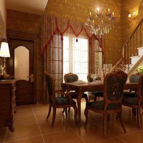 古典古典风格餐厅装修效果展示