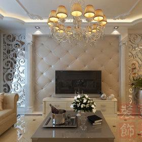 欧式古典欧式风格客厅三居背景墙电视背景墙效果图