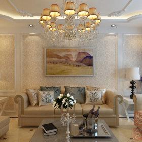 欧式古典欧式风格客厅三居图片