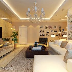现代简约客厅沙发设计方案