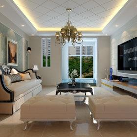 新古典古典客厅设计方案