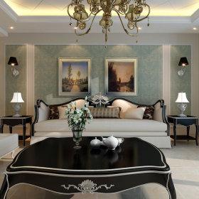 新古典古典客厅设计案例展示