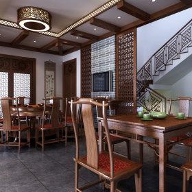 东南亚餐厅效果图