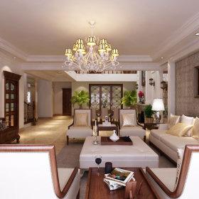 美式美式风格客厅设计图