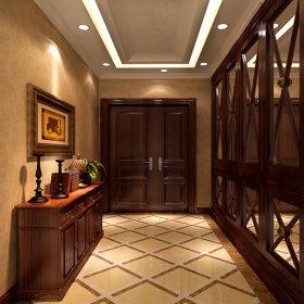 美式美式风格玄关玄关柜效果图