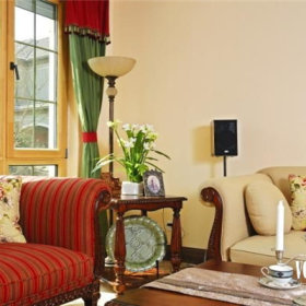 美式乡村风格客厅图片