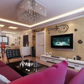 现代现代风格客厅装修图