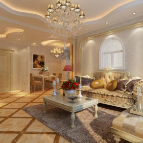欧式欧式风格客厅装修图