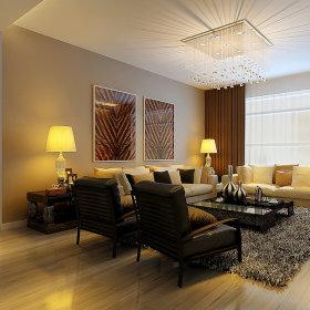 现代客厅吊顶窗帘装修效果展示