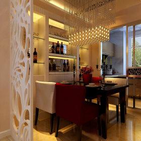 现代餐厅酒柜案例展示