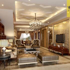 新古典古典客厅装修案例