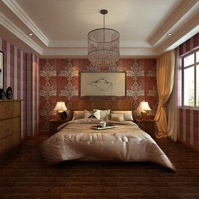 中式中式风格卧室装修效果展示