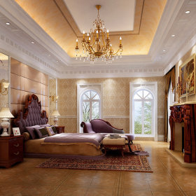 法式法式风格卧室装修案例