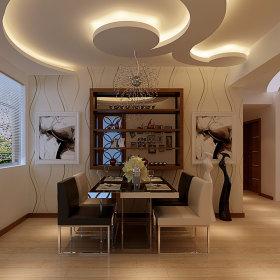 现代现代风格餐厅设计图