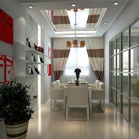 简约简约风格餐厅设计方案