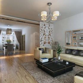 现代现代风格客厅设计案例