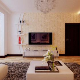 现代现代风格客厅背景墙电视背景墙设计方案