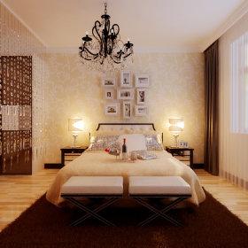 现代现代风格卧室案例展示