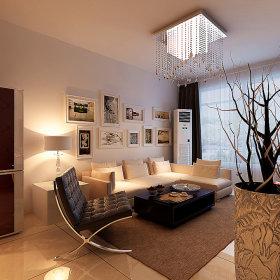 现代现代风格客厅效果图