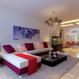 现代简约现代简约简约风格现代简约风格客厅设计案例展示