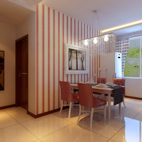 现代现代风格餐厅设计方案