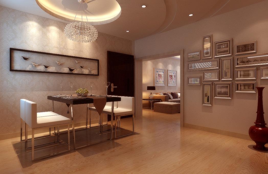 简约三居恋上欧式大厨房&白色木柜 镂空门板,忙碌主妇图片