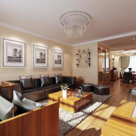中式客厅装修图