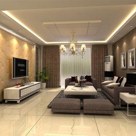 现代简约现代简约客厅装修效果展示