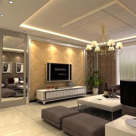 现代简约现代简约客厅设计图