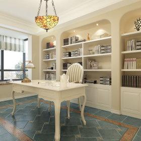 美式法式书房吊顶案例展示