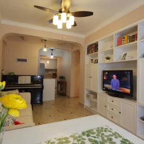 田园客厅沙发电视柜茶几设计案例展示