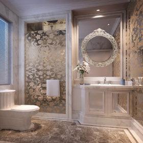 欧式卫生间设计图