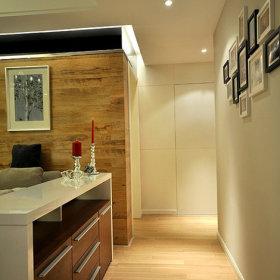现代玄关卫生间玄关柜设计案例