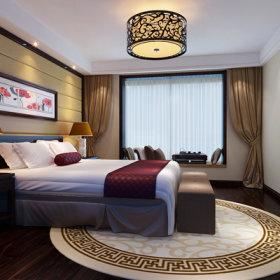 中式卧室装修效果展示