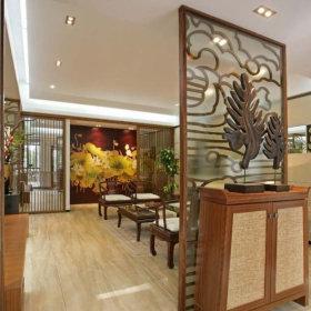 中式玄关玄关柜设计案例展示