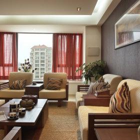 中式沙发单人沙发设计案例