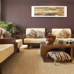 中式沙发单人沙发装修图