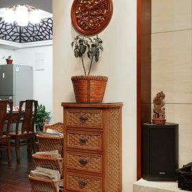 中式客厅五斗柜装修图