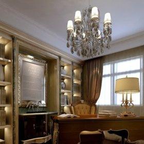 欧式欧式风格书房设计方案