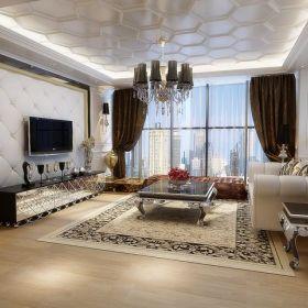 新古典古典新古典风格古典风格客厅设计案例