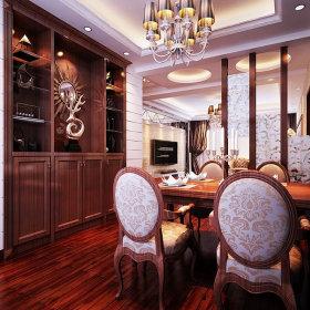 新古典古典餐厅设计图