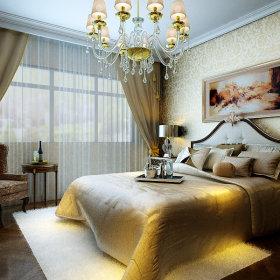 欧式欧式风格卧室跃层吊顶设计图
