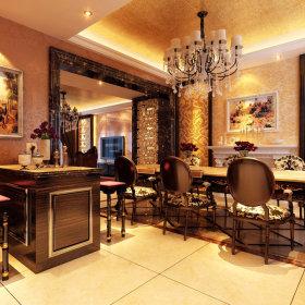欧式古典餐厅装修图