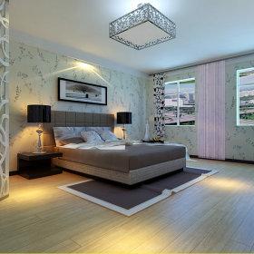 简约时尚卧室二居设计方案